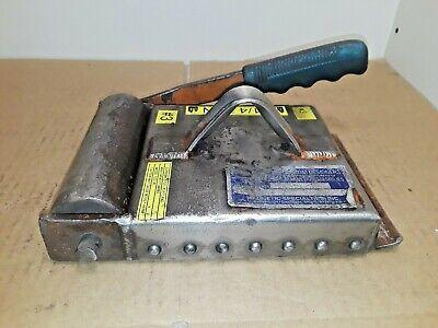 Msi Model 1037-jr Plate Sheet Lifting Magnet 840 Lb Cap. Minor Damage To Mag