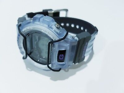 Rare Vintage G-Shock Extreme DW6900 Jelly Light Sky Blue Bumper Guard Protection for sale  Shipping to United States
