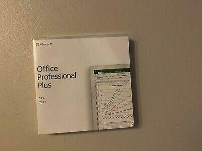 Microsoft Office 2019 Professional Plus For Windows Authentic Retail DVD Setup