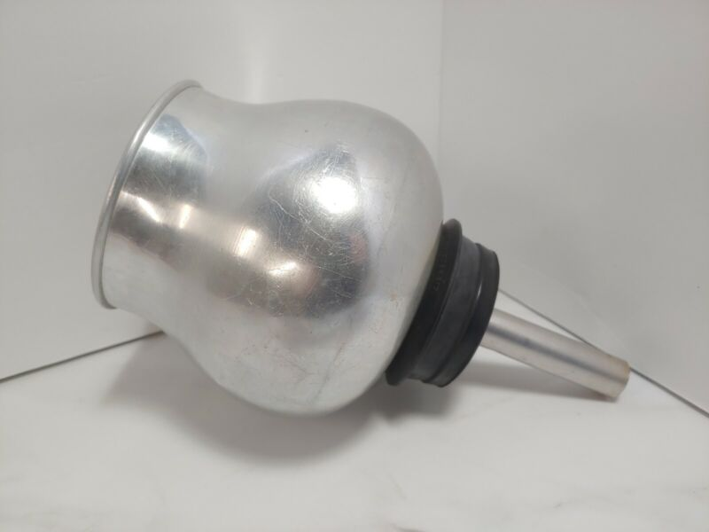 Vintage SILEX Pyrex M-UW-8 Bottom BOWL Carafe Vacuum Metal Coffee Top USA