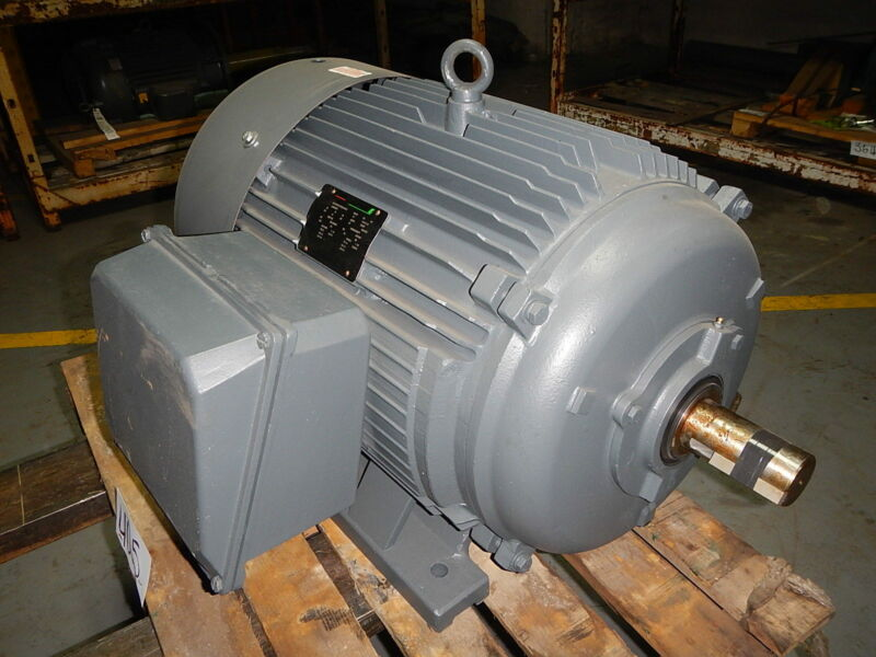 100 Hp Electric Motor, 3600 Rpm, 404ts 405ts Frame, Tefc, 460 V, Lincoln, New