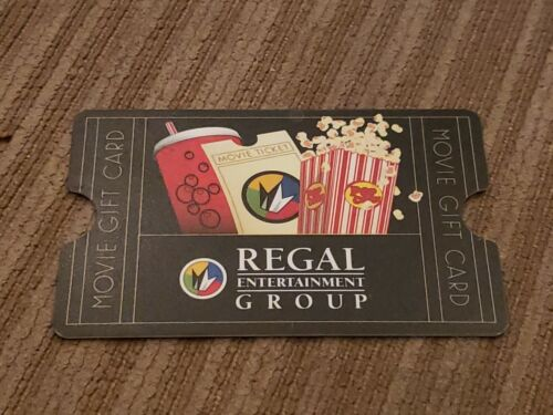 Regal Entertainment Group Gift Card 25 To Regal, United Artist, Edwards - $20.00