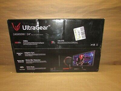 LG 24'' UltraGear FHD 144Hz 1ms Gaming Monitor with FreeSync