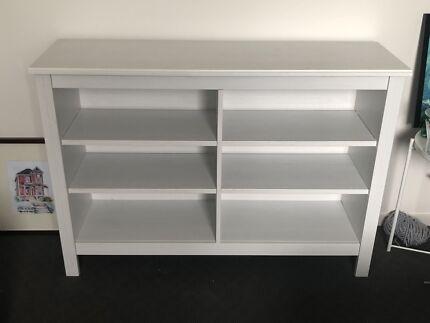 Credenza Ikea Brusali : Ikea expedit shelving unit shelves bookcases