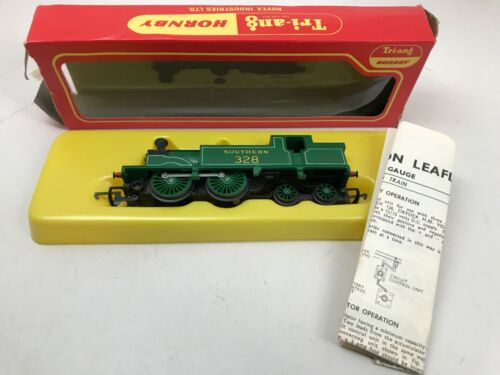 Tri-Ang Hornby R.868 0-4-4 M7 Locomotive Train Southern 328 In Wrong Box - As Is