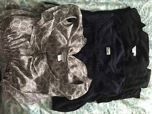Lot of brand name maternity clothes - worth over $750!