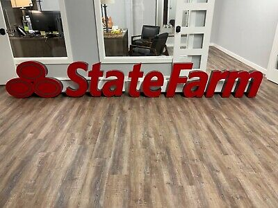 State Farm Led Sign Newstate Farm 24 Letters W 25.8h Ovalsraceway Mounted
