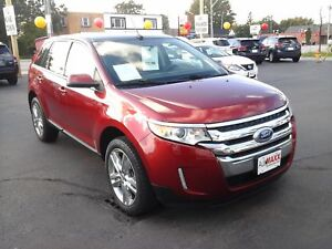 2014 FORD EDGE SEL AWD- PANORAMIC SUNROOF, NAVIGATION SYSTEM, LE
