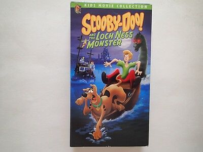 SCOOBY-DOO! And the LOCH NESS MONSTER VHS Tape, Shaggy and the Mystery Inc. Gang (Scooby Doo And The Gang)