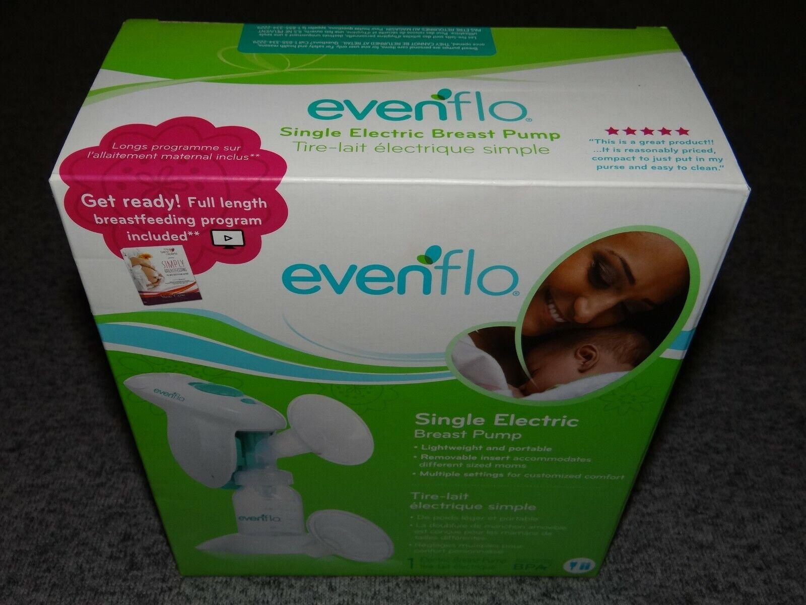 Evenflo Single Lightweight Portable Electric Breast Pump 2900 BPA Free SEALED - $25.99