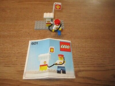 LEGO DENMARK-VINTAGE SET NO. 601 - SHELL SERVICE STATION -1970's.