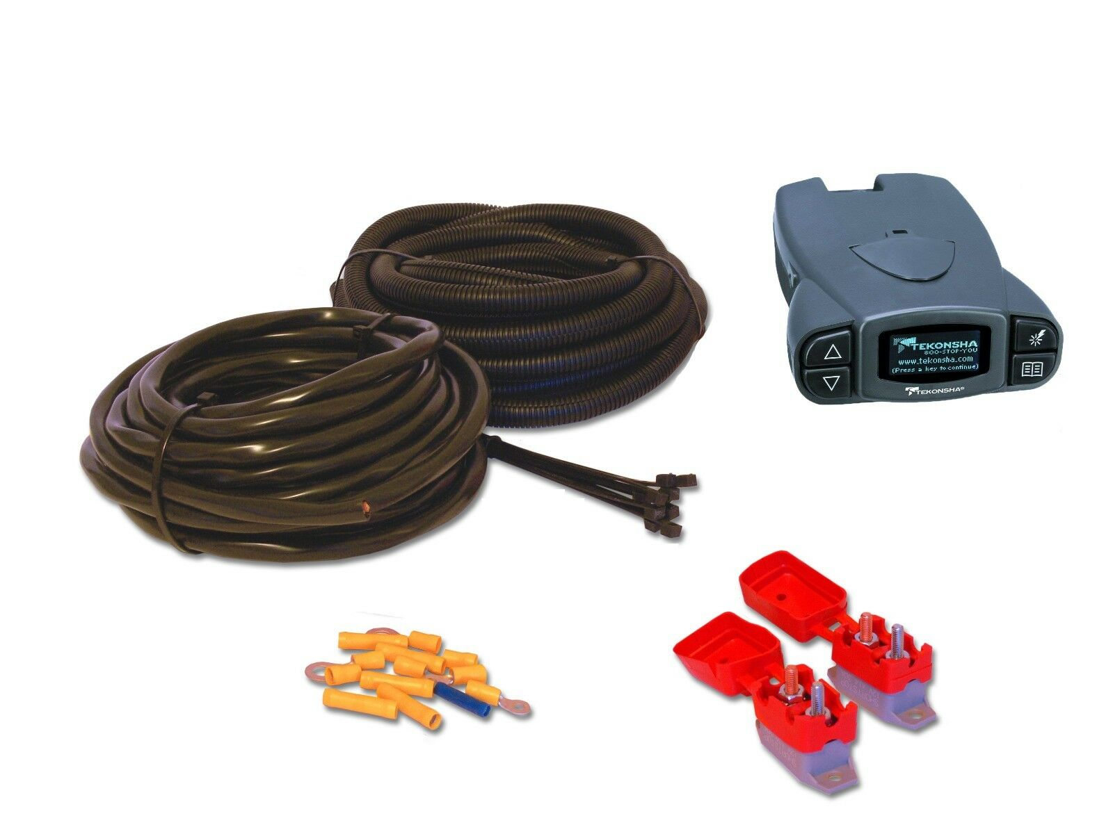 TEKONSHA P3 PRODIGY ELECTRIC BRAKE CONTROLLER     Wiring    Kit