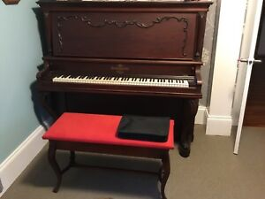 Heintzman upright grand piano for sale