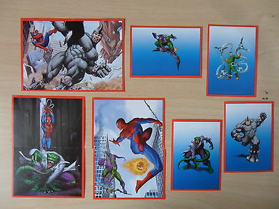 Panini  10 Sticker Spider Sense  Spider-Man   ()