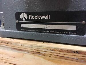 """Rockwell Beaver 4"""" Jointer"""