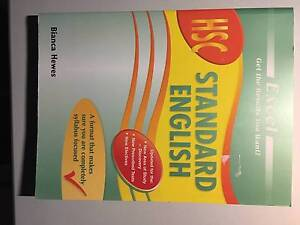Excel: HSC Standard English Bexley Rockdale Area Preview