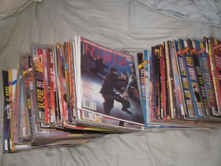 Massive collection of 48 Ninja the original magazines super RARE! Caulfield East Glen Eira Area Preview