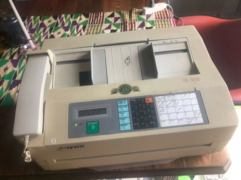Fax Machine Sharp FO-460