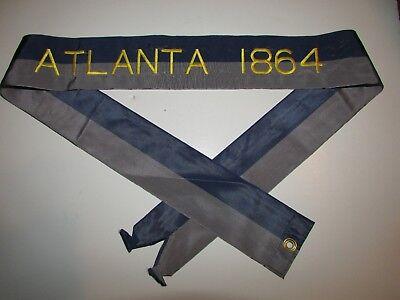St560 US Army Streamer Civil War Atlanta 1864 IR41