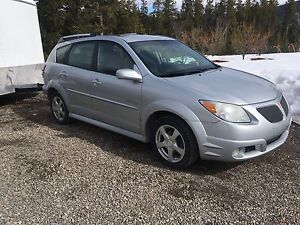 2006 Pontiac Vibe GT  with 2 Full Sets of Tires AND Rims!