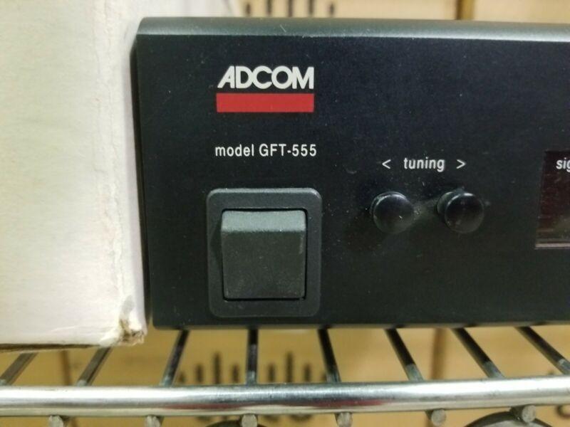 Adcom GFT-555 AM/FM Stereo Tuner in Original Box