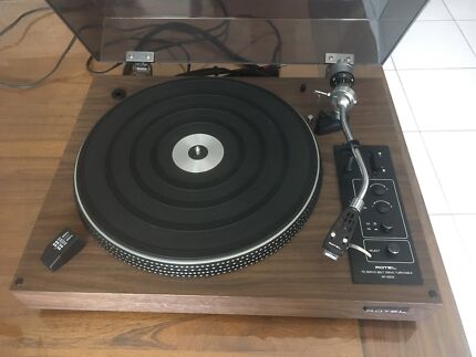 Vintage Rotel Turntable Record Player