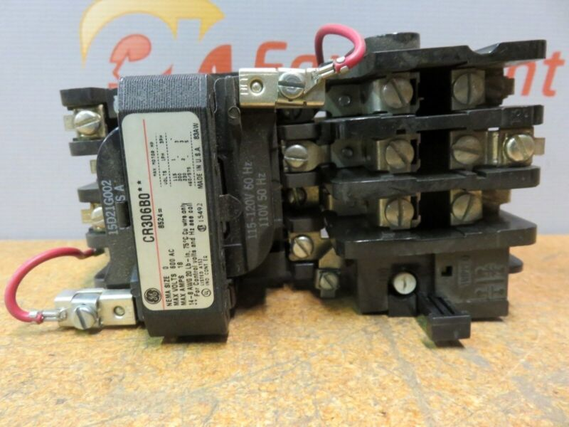 GE General Electric CR30680 Magnetic Contactor Motor Starter Series A 600 V
