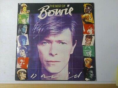 David Bowie-The Best Of Bowie Vinyl LP 1981 Dutch