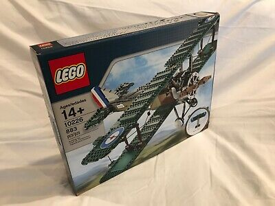 Lego 10226 Sopwith Camel - Great Condition
