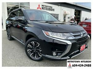2018 Mitsubishi Outlander PHEV GT; EX-CORPORATE DEMO!