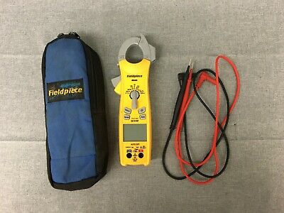 Fieldpiece Sc440 Ture Rms Essential Clamp Meter With Leads-