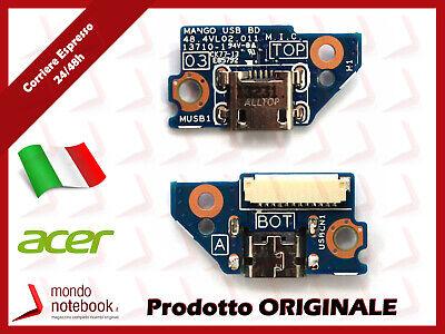 Micro USB BOARD Scheda Alimentazione ACER A1-810 A1-811