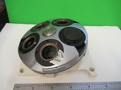 Zeiss Germany Nosepiece Turret Axio Dic Microscope Part As Pictured 80-a-05