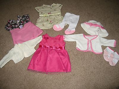 DOLL CLOTHES PARTY DRESS COLLECTION FITS AMERICAN GIRL OR 18