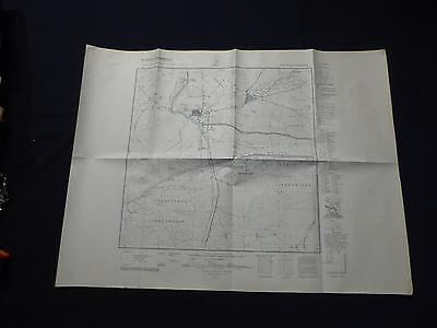 Landkarte Meßtischblatt 3146 Liebenwalde, Hammer, Hohenzollernkanal, 1945