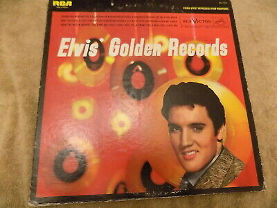 ELVIS PRESLEY Elvis Golden Records LP re hound dog, jailhouse rock, heartbreak h