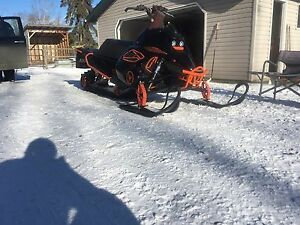 Two turbo sleds and trailer package deal