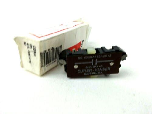 C320KA1 Cutler Hammer Auxiliary Contacts