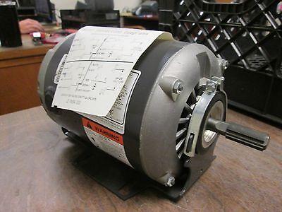 Emerson Belt Drive Fan Blower Motor 3623 13hp 1800rpm 1ph 60hz New Surplus
