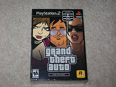 GRAND THEFT AUTO THE TRILOGY...PS2...***SEALED***BRAND NEW***!!!!!!!