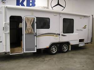 KBCAMPER 2012 JAYCO STIRLING TWIN SLIDE OUTS  AS NEW CONDITION Wangara Wanneroo Area Preview