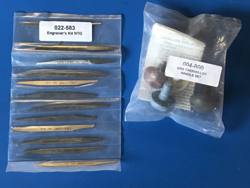 GRS Graver and ThermoLock Handle Assortment