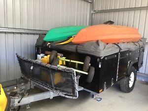 Fraser LX 2016 step through camper trailer
