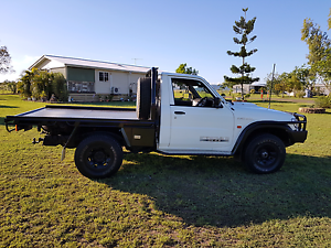 2003 GU patrol ute in great condition Amberley Ipswich City Preview
