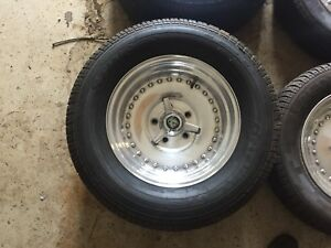 """15"""" Centreline staggered wheels"""