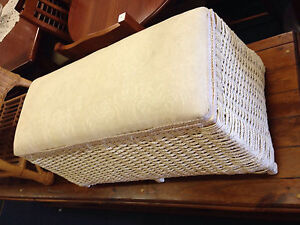 Vintage Seagrass blanket box Inala Brisbane South West Preview