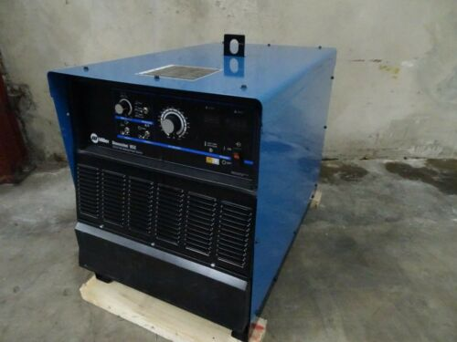 MILLER MULTIPROCESS DIMENSION 652 MACHINE ONLY - FREIGHT DAMAGE - MIG TIG SAW