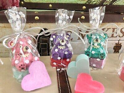 Detalles Bodas comuniones bautizo 20 brillo de labios Koala y Jabón de...