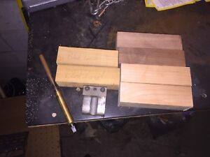 Duck call jig, 5/8 mandrel, 6 wood blanks.