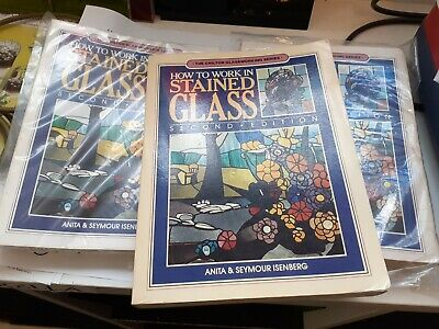 How to work in stained glass by Isenberg
